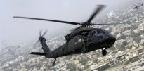 UH-60 Black Hawk Flying