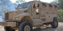 RG31 vehicle MRAP