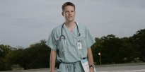 Portrait AMEDD Doctor on flightline