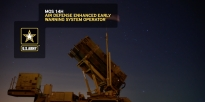 Air defense enhanced early warning system operators