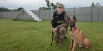 Military Police Working Dog Handler