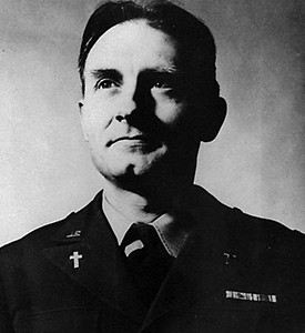 Emil Kapuan was one of 12 Army chaplains to die in the Korean War, all in North Korean concentration camps. He received the Medal of Honor for his actions.