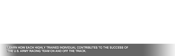 Learn how each highly trained individual contributes to the success of every U.S. Army team on and off the track.