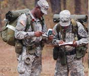 Land navigation is one of the most important tasks that cadets have to master while in ROTC.