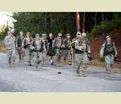 The Ruck March is just one event at the Ranger Challenge Competition. Appalachian State last won the event in 2008.