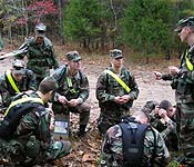 While filling the leadership positions, cadets hone their skills in making the plan, briefing the plan, and processing feedback. They gain public speaking skills, organizational skills, and self confidence that will enhance their performance in many areas of the academic and professional lives. ROTC alumni can attest to the fact that the skills they learned in ROTC have helped them throughout their careers in Army and civilian life.