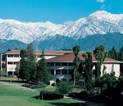 The headquarters of Army ROTC at Claremont McKenna College is Bauer Center at the foot of the beautiful San Gabriel Mountains.