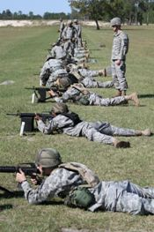 Cadets hone their shooting skills at Camp Blanding Joint Training Center