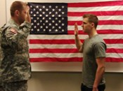 Once a student is eligible, they sign a contract with the Army to receive benefits in exchange for training to be an Army Officer. The new Cadet then swears to support and defend the Constitution of United States.