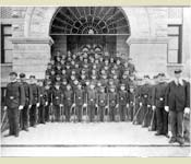 "In 1899, the first ROTC unit (formerly called the ""cadet program"") was established at Gonzaga, they were a motley crew that the Army determined as unsatisfactory. The US Army had planned to end the program but the Jesuits of Gonzaga had tremendous pride in the program, assisting in the discipline of the cadets, stalling the army from terminating the program in 1908."