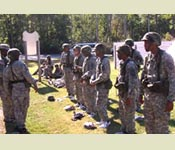 The FLRC course develops and evaluates leadership and builds teamwork.