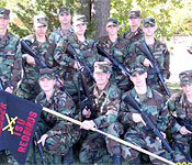 Cadets will have the opportunity to become a member of the Ranger Challenge Team. This team competes again other schools in several military tasks over the course of a weekend.