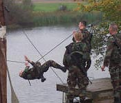 Every year the best cadets in the Brigade meet for the Ranger Challenge Competition. Here they execute multiple lanes from the one rope bridge to the obstacle course, which test each cadet to the limit as an individual and as a team.