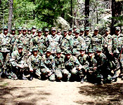 Cadets participate in many exercises in the beautiful high country
