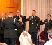 Commissioning is the capstone event of ROTC, it means that you have made it through Army ROTC and have earned the rank of second lieutenant.