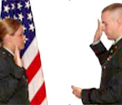 The ROTC program culminates with being commissioned as a second lieutenant in the United States Army. Each new lieutenant will then report to his/her branch specific (Infantry, Aviation, Medical Service Corps…) training in the coming months. Cadets get to request the branch that they want the beginning of their MSIV year.