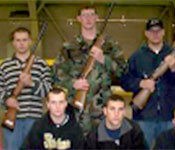 Rifle Team is just one of the extracurricular clubs that cadets can participate in during the school year. Other clubs include AUSA, Ranger Club, and Drill Team.