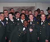 Tiger Battalion cadets pose during last year's winter ball