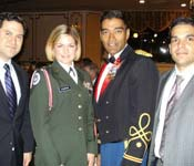 Every year, we invite Red Storm Alumni to be our guests at our Military Ball.