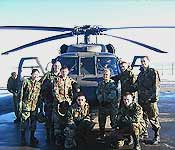 Cadets complete a Blackhawk ride as one of the many training opportunities offered by Syracuse University Army ROTC.