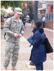 During their tenure at Temple University, Cadets will continually develop their professional and leader skills, building many future contacts while improving their confidence, physical fitness and time management. Many military leaders follow their service with rewarding and succesful careers, resulting from the knowledge and skill sets aquired as a result of their military service.