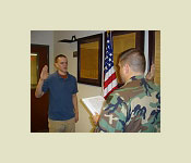 Contracting into the ROTC program is the first step to becoming a future officer in the United States Army.