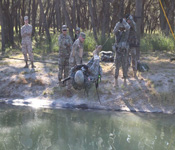The Spring Field Training Exercise is an opportunity for the cadets to experience patrolling on the squad and platoon levels. MS III's lead their squads through STX Lanes (Situation Training Exercises) and lead platoons through Platoon Patrolling. Evaluations are done by the MS IV's in order to prepare the MS III's for Advanced Camp in the summer.