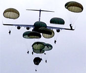 Cadets may attend Airborne School at Ft Benning, GA.