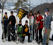 The 2008 Cadet Ski Trip was held at Chestnut Mountain in Galena, IL. The Cadets and Cadre enjoyed some of the finest Midwest skiing and views of the Mississippi River Valley. The Cadets used this fantastic event to spur camaraderie among their fellow students