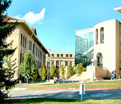 The University of Utah campus is an exciting blend of it's proud history and it's commitment to the future.