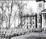 Since the establishment of ROTC on the Wofford Campus in 1919, military training has been an important part of campus life for many students,