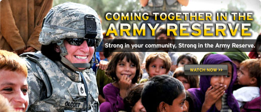 ... Reserve - Strong in your community, Strong in the Army Reserve - Watch