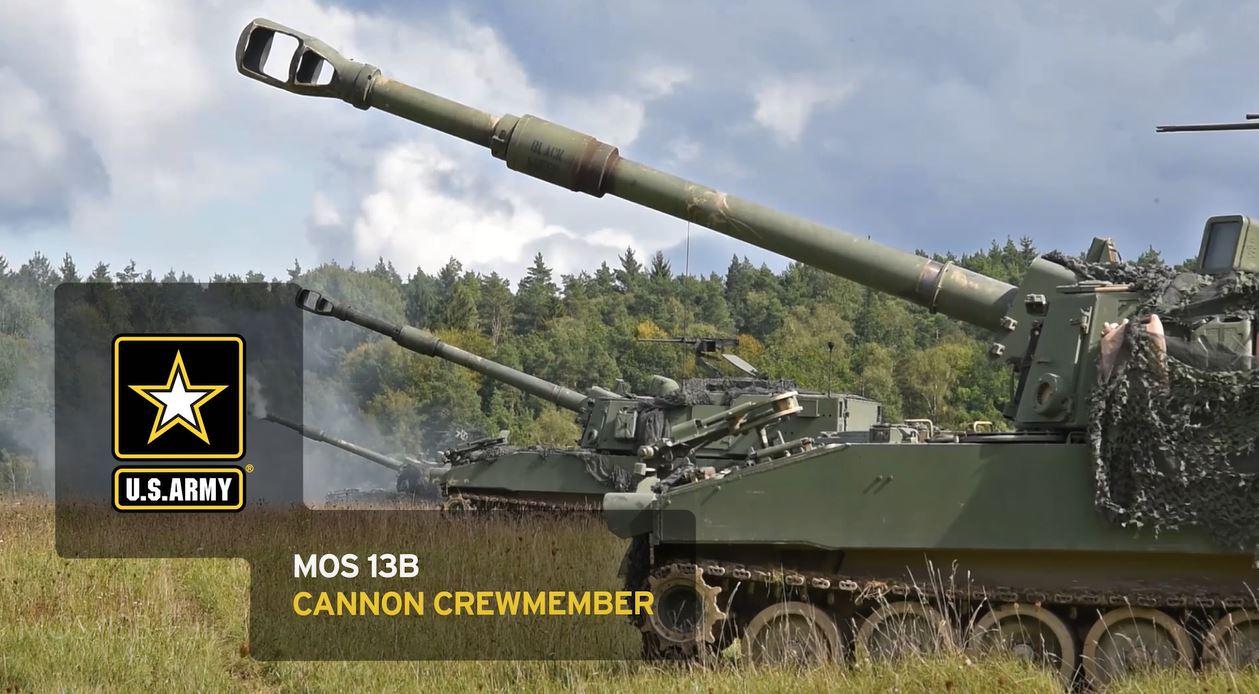 Cannon Crewmember (13B)   goarmy com