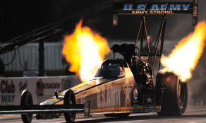 Dragster flames 2010