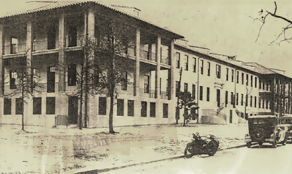 A photo of the USAMU Building