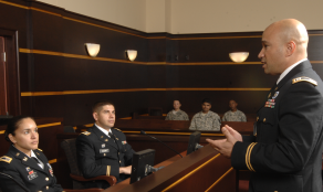 CPT Rhinehardt talks to jury
