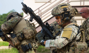 75th Ranger RGT operators conducting MOUT Training 2