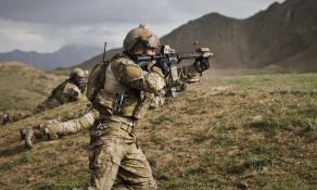 75th Ranger Regiment operator shooting