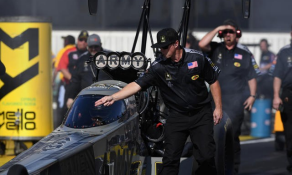 Army NHRA Dragster and Pit Crew