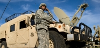 Satellite Communication System Operator SGT Jamers